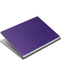 Diamond Purple Glitter Surface Book Skin