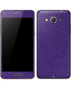 Diamond Purple Glitter Galaxy Grand Prime Skin