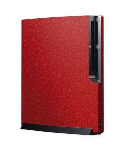 Diamond Red Glitter Playstation 3 & PS3 Slim Skin