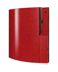 Diamond Red Glitter Playstation 3 & PS3 Skin