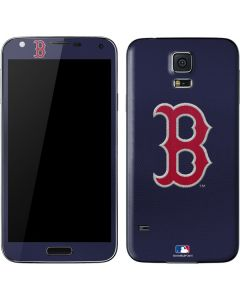Red Sox Embroidery Galaxy S5 Skin