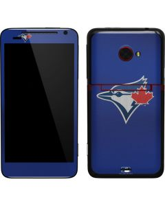 Blue Jays Embroidery EVO 4G LTE Skin