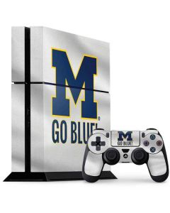 Michigan Go Blue PS4 Console and Controller Bundle Skin