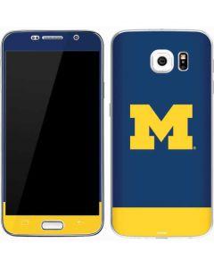 University of Michigan Logo Galaxy S7 Skin