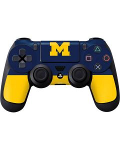 University of Michigan Logo PS4 Controller Skin