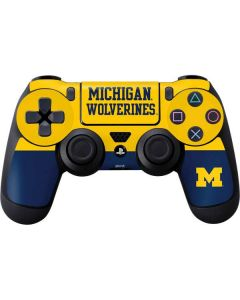 Michigan Wolverines Split PS4 Controller Skin