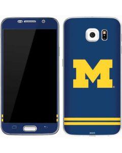 Michigan Logo Striped Galaxy S7 Skin