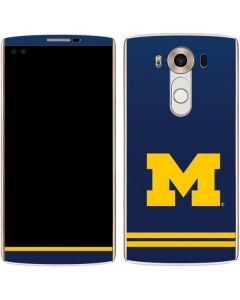 Michigan Logo Striped V10 Skin