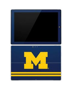 Michigan Logo Striped Surface Pro 3 Skin