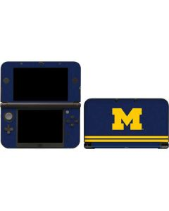 Michigan Logo Striped 3DS XL 2015 Skin