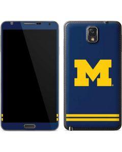Michigan Logo Striped Galaxy Note 3 Skin