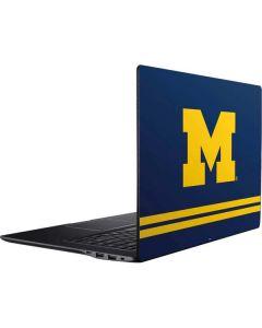 Michigan Logo Striped Ativ Book 9 (15.6in 2014) Skin