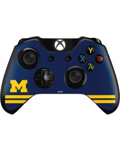 Michigan Logo Striped Xbox One Controller Skin