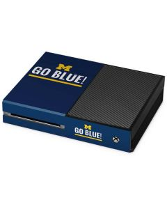 University of Michigan Go Blue Xbox One Console Skin