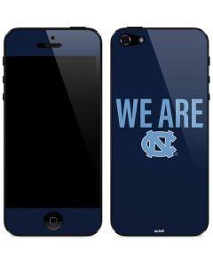 We Are North Carolina iPhone 5/5s/SE Skin