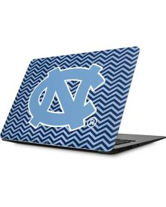 North Carolina Chevron Print Apple MacBook Skin