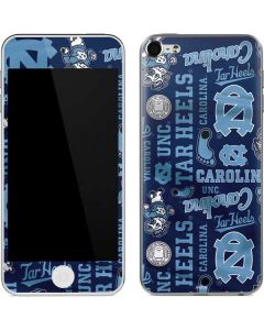 North Carolina Tar Heels Print Apple iPod Skin