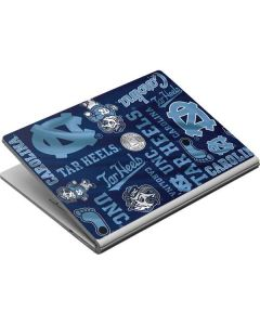 North Carolina Tar Heels Print Surface Book Skin