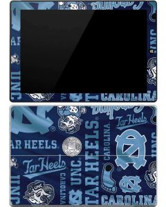 North Carolina Tar Heels Print Surface 3 Skin