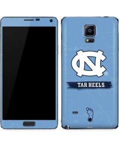 North Carolina Tar Heels Galaxy Note 4 Skin