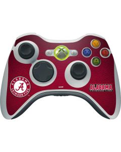 University of Alabama Seal Xbox 360 Wireless Controller Skin
