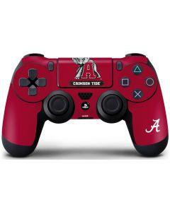 Alabama Crimson Tide Red Logo PS4 Controller Skin