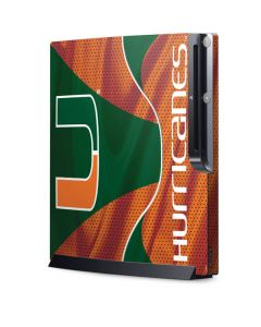 Miami Hurricanes Jersey Playstation 3 & PS3 Slim Skin
