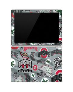 Ohio State Pattern Surface Pro 3 Skin