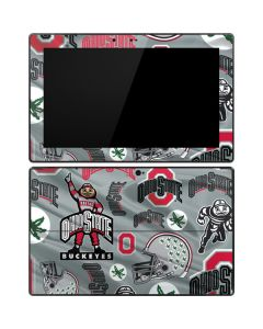 Ohio State Pattern Surface Pro Tablet Skin