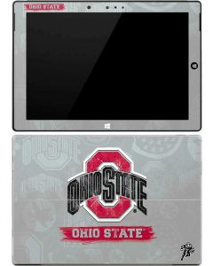 Ohio State Distressed Logo Surface 3 Skin
