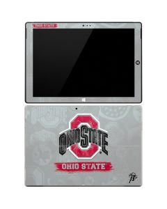 Ohio State Distressed Logo Surface Pro 3 Skin