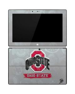 Ohio State Distressed Logo Surface Pro Tablet Skin