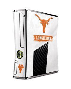 Texas Longhorns Distressed Xbox 360 Slim (2010) Skin