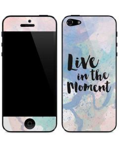 Live In The Moment Pastel iPhone 5/5s/SE Skin