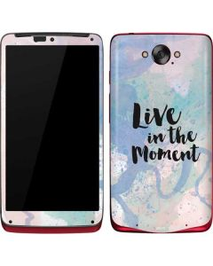 Live In The Moment Pastel Motorola Droid Skin