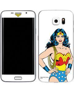 Wonder Woman Galaxy S6 Edge Skin