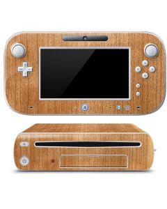 Natural Wood Wii U (Console + 1 Controller) Skin