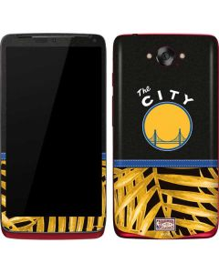 Golden State Warriors Retro Palms Motorola Droid Skin