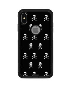 Skull and Crossbones (white) Otterbox Commuter iPhone Skin