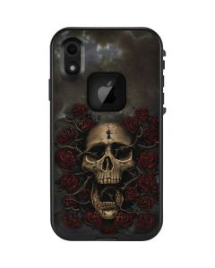 Skull Entwined with Roses LifeProof Fre iPhone Skin