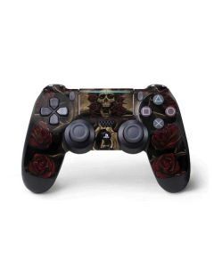 Skull Entwined with Roses PS4 Pro/Slim Controller Skin