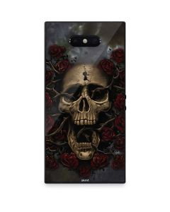 Skull Entwined with Roses Razer Phone 2 Skin