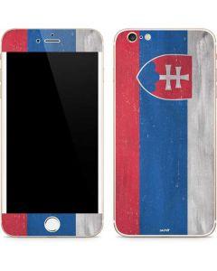 Slovakia Flag Distressed iPhone 6/6s Plus Skin