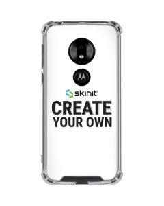 Custom Moto G7 Play Clear Case
