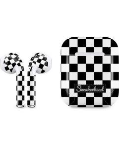 Sneakerhead Checkered Apple AirPods Skin