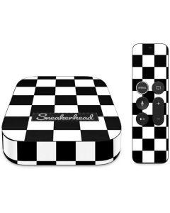 Sneakerhead Checkered Apple TV Skin