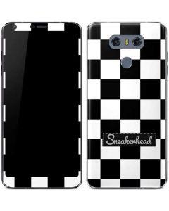 Sneakerhead Checkered LG G6 Skin