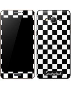 Sneakerhead Checkered Galaxy Grand Prime Skin