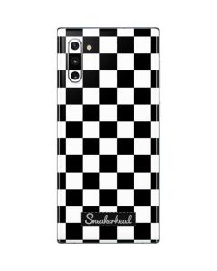 Sneakerhead Checkered Galaxy Note 10 Skin