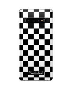 Sneakerhead Checkered Galaxy S10 Plus Skin